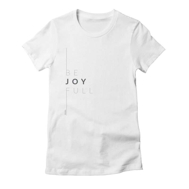 JOY // Full Women's Fitted T-Shirt by Desanka Spirit's Artist Shop