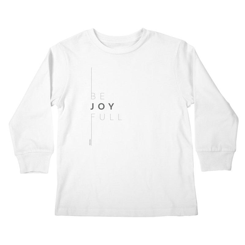 JOY // Full Kids Longsleeve T-Shirt by Desanka Spirit's Artist Shop
