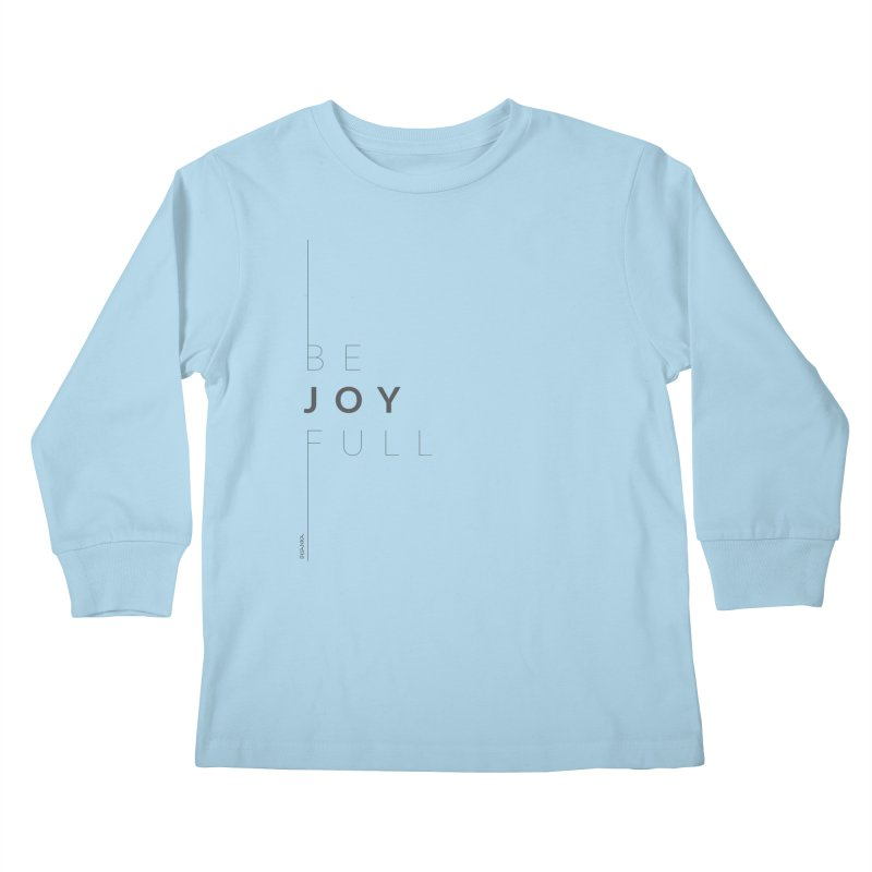 JOY // Full Kids Longsleeve T-Shirt by Desanka Spirit's Artist Shop