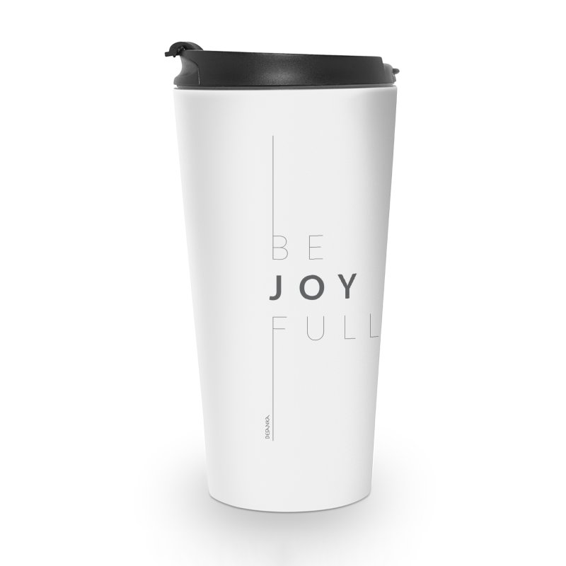 JOY // Full Accessories Travel Mug by Desanka Spirit's Artist Shop