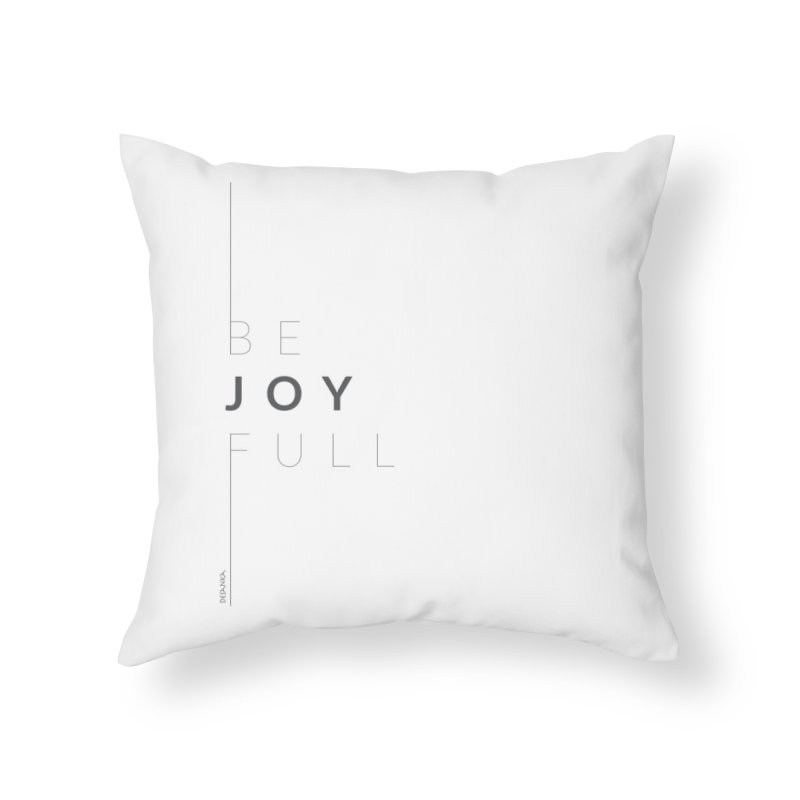 JOY // Full Home Throw Pillow by Desanka Spirit's Artist Shop