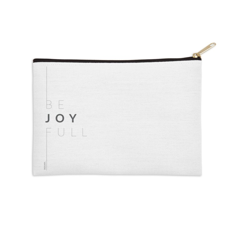 JOY // Full Accessories Zip Pouch by Desanka Spirit's Artist Shop