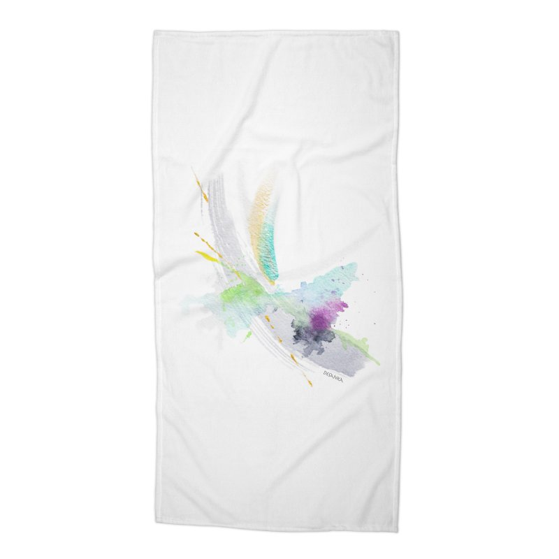 JOY // Living the Dream Accessories Beach Towel by Desanka Spirit's Artist Shop