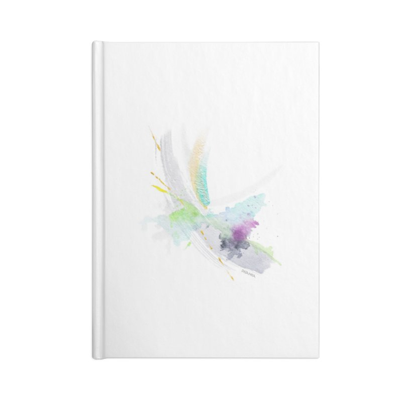JOY // Living the Dream Accessories Lined Journal Notebook by Desanka Spirit's Artist Shop
