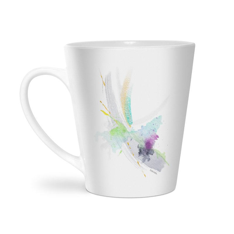 JOY // Living the Dream Accessories Latte Mug by Desanka Spirit's Artist Shop