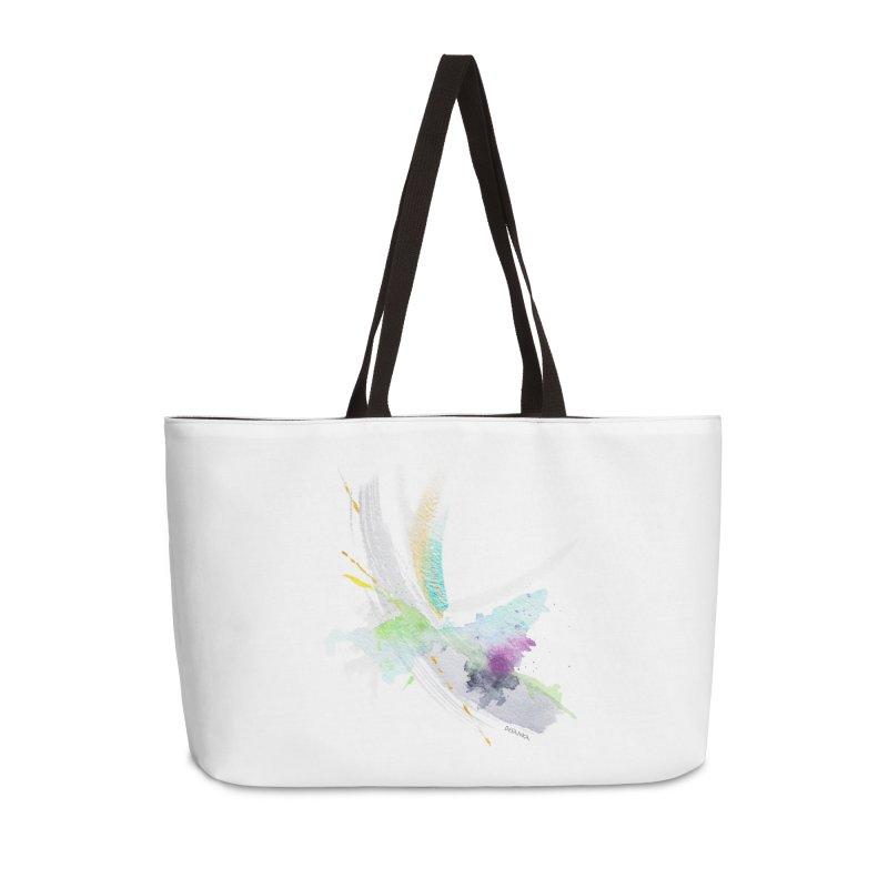 JOY // Living the Dream Accessories Weekender Bag Bag by Desanka Spirit's Artist Shop