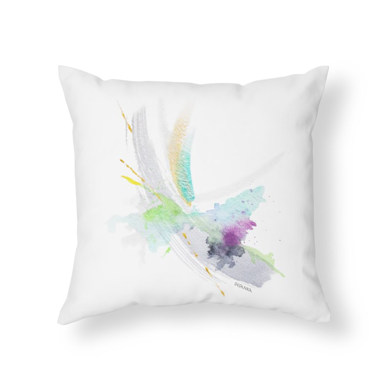 JOY // Living the Dream Home Throw Pillow by Desanka Spirit's Artist Shop