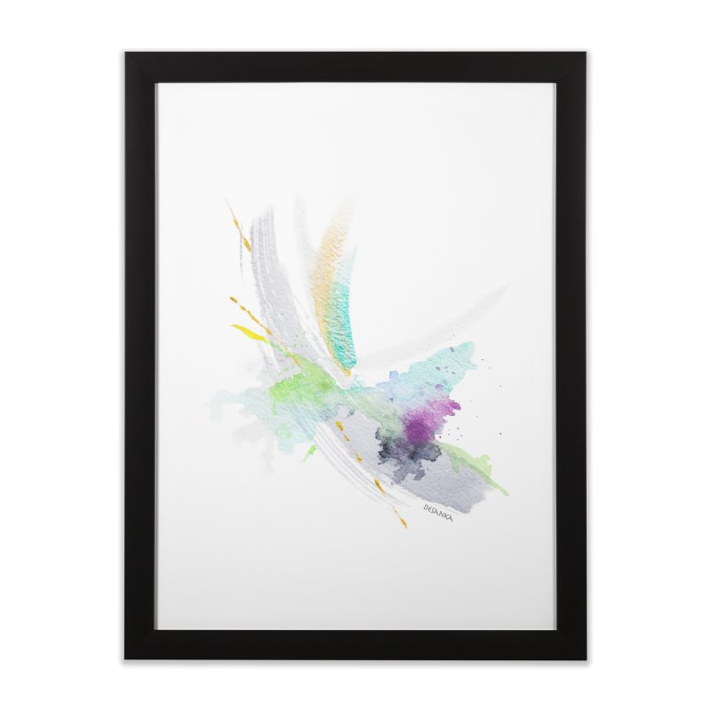 JOY // Living the Dream Home Framed Fine Art Print by Desanka Spirit's Artist Shop