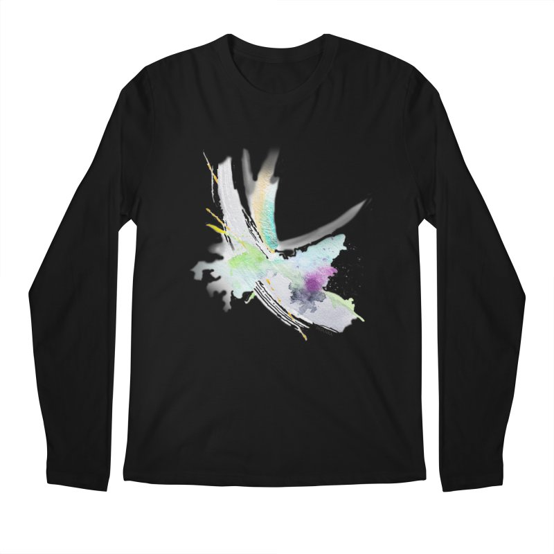 JOY // Living the Dream Men's Regular Longsleeve T-Shirt by Desanka Spirit's Artist Shop