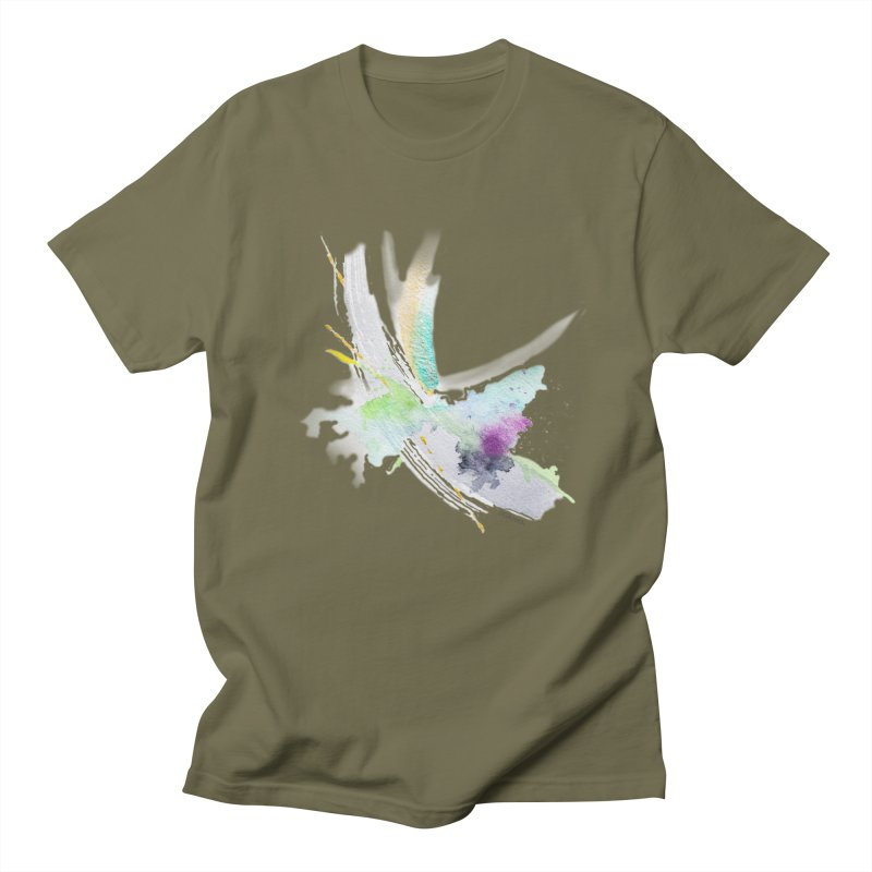 JOY // Living the Dream Men's Regular T-Shirt by Desanka Spirit's Artist Shop