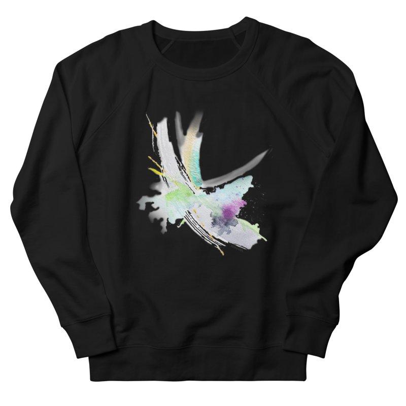 JOY // Living the Dream Women's French Terry Sweatshirt by Desanka Spirit's Artist Shop