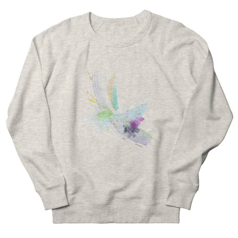 JOY // Living the Dream Women's French Terry Sweatshirt by Desanka Spirit's Artist Shop