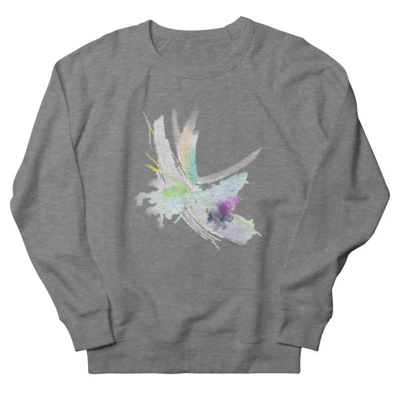 JOY // Living the Dream Men's French Terry Sweatshirt by Desanka Spirit's Artist Shop