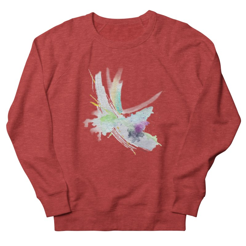 JOY // Living the Dream Men's French Terry Sweatshirt by Desanka Spirit's Artist Shop