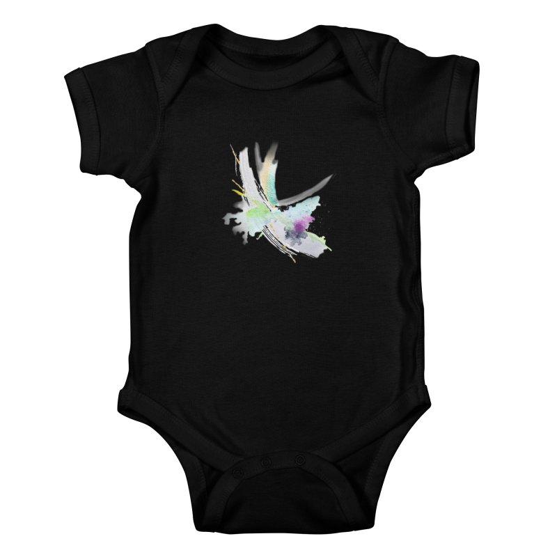 JOY // Living the Dream Kids Baby Bodysuit by desankaspirit's Artist Shop