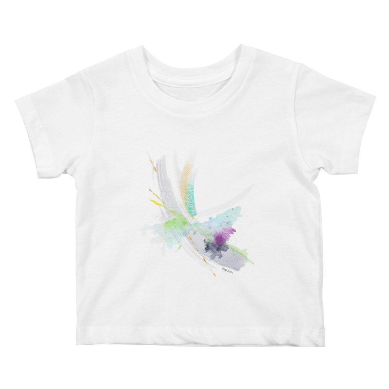 JOY // Living the Dream Kids Baby T-Shirt by Desanka Spirit's Artist Shop