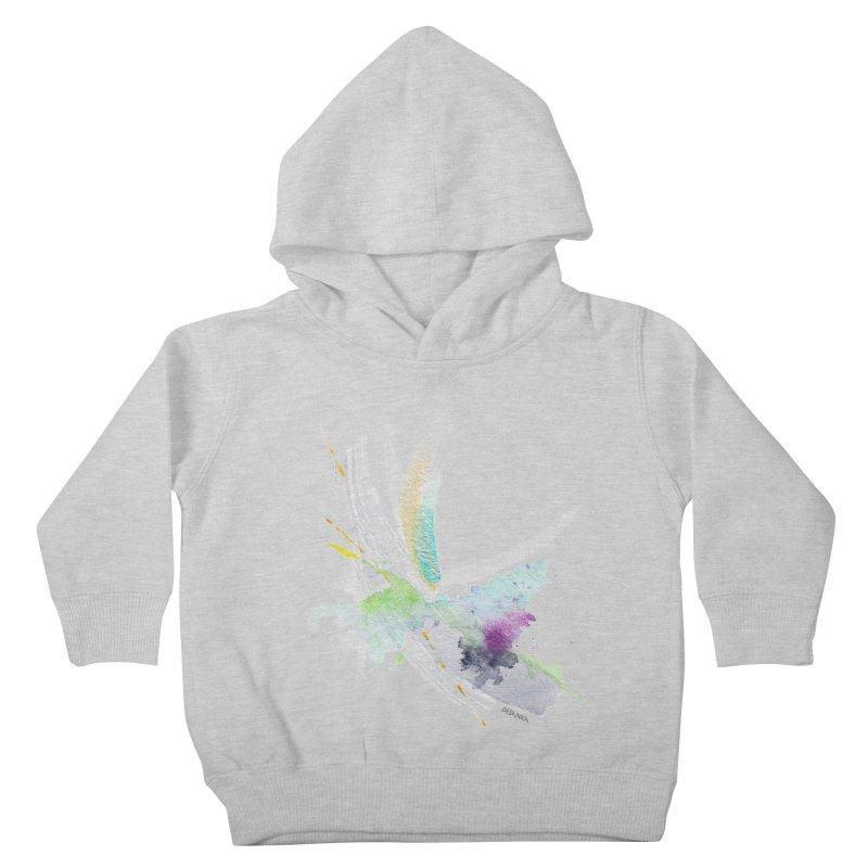 JOY // Living the Dream Kids Toddler Pullover Hoody by Desanka Spirit's Artist Shop