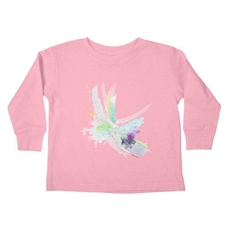 JOY // Living the Dream Kids Toddler Longsleeve T-Shirt by Desanka Spirit's Artist Shop