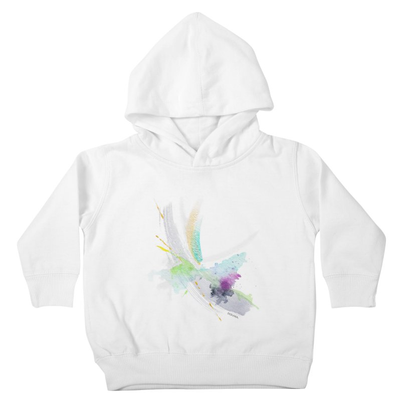 JOY // Living the Dream Kids Toddler Pullover Hoody by Desanka Spirit's Artist Shop