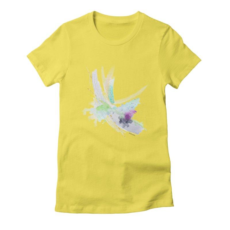 JOY // Living the Dream Women's T-Shirt by Desanka Spirit's Artist Shop