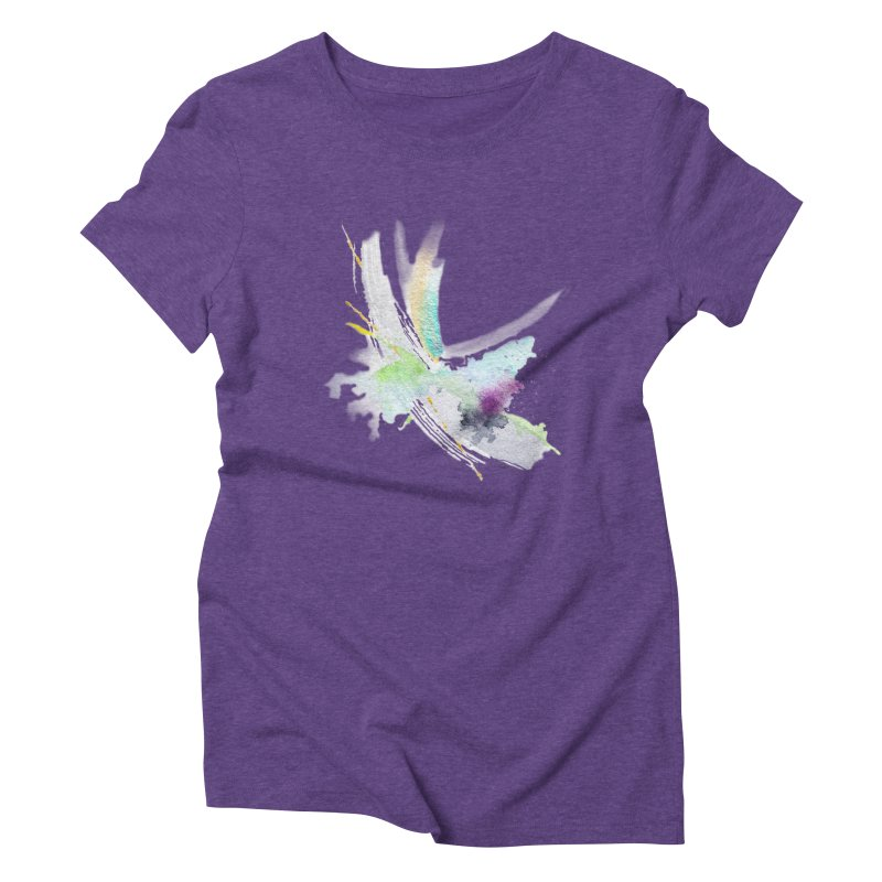 JOY // Living the Dream Women's Triblend T-Shirt by Desanka Spirit's Artist Shop