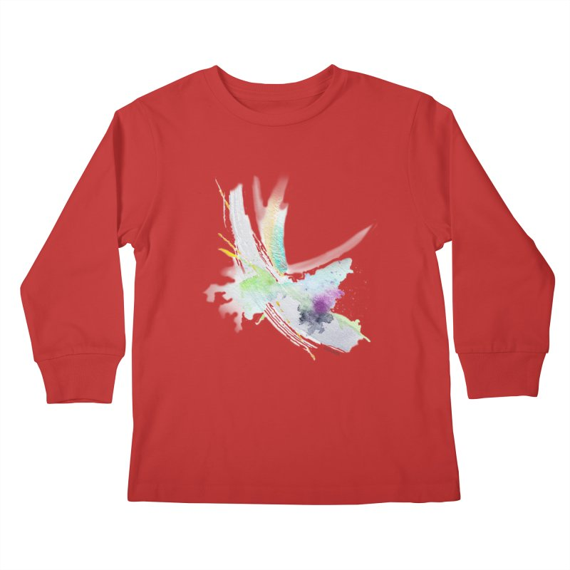 JOY // Living the Dream Kids Longsleeve T-Shirt by Desanka Spirit's Artist Shop