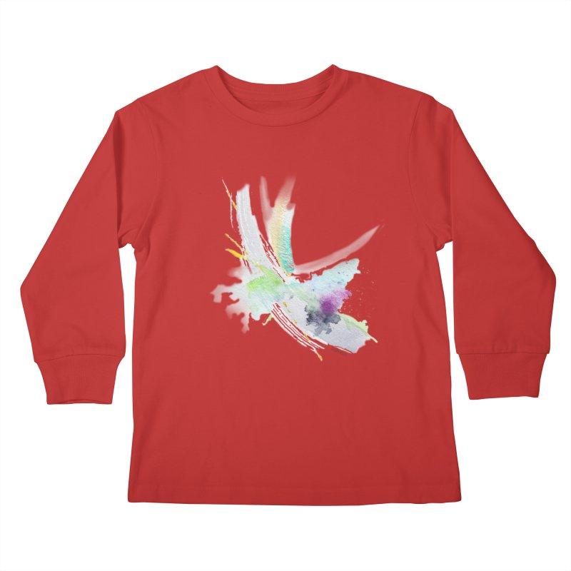 JOY // Living the Dream Kids Longsleeve T-Shirt by Desanka Spirit's Artist Shop