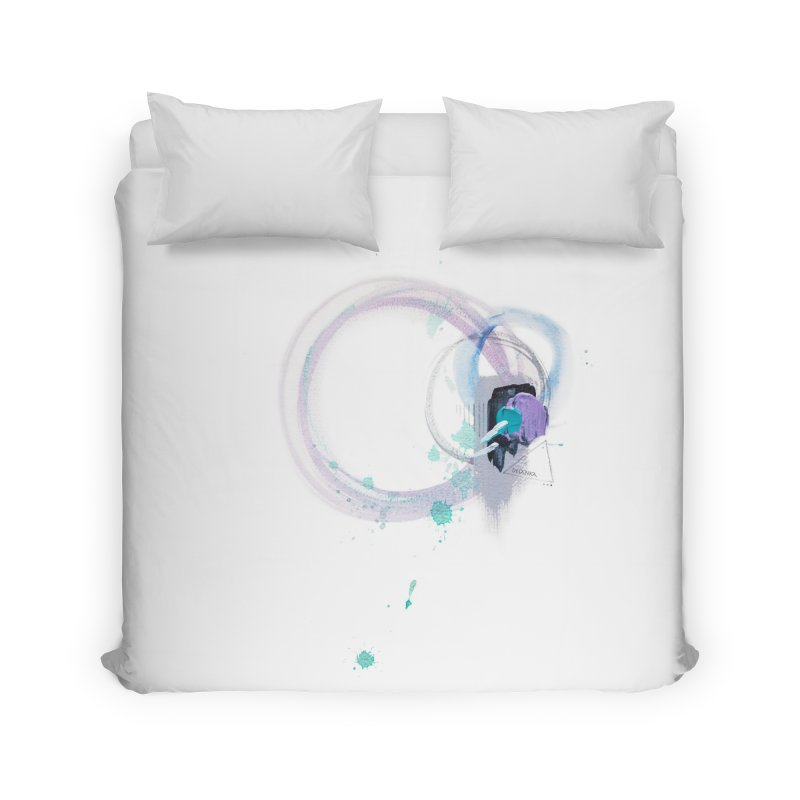 JOY // Ripple Effect Home Duvet by Desanka Spirit's Artist Shop