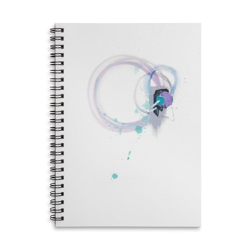 JOY // Ripple Effect Accessories Lined Spiral Notebook by Desanka Spirit's Artist Shop