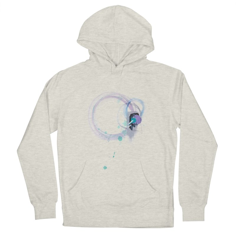 JOY // Ripple Effect Women's Pullover Hoody by Desanka Spirit's Artist Shop