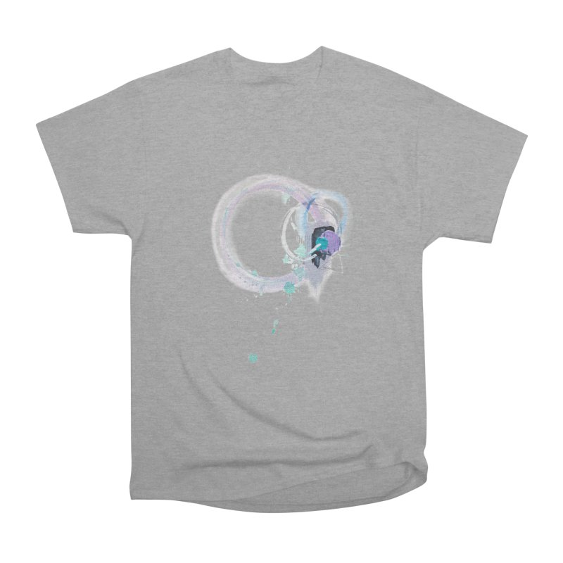 JOY // Ripple Effect Men's Heavyweight T-Shirt by desankaspirit's Artist Shop