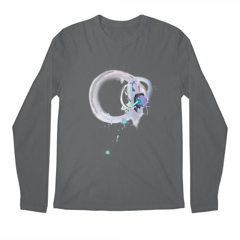 JOY // Ripple Effect Men's Longsleeve T-Shirt by Desanka Spirit's Artist Shop