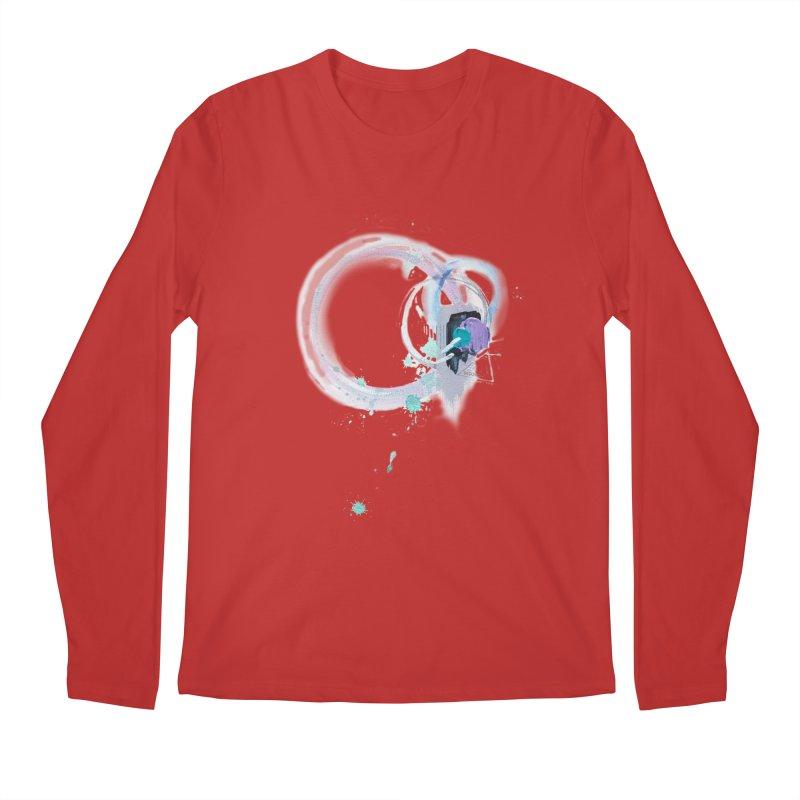 JOY // Ripple Effect Men's Regular Longsleeve T-Shirt by Desanka Spirit's Artist Shop