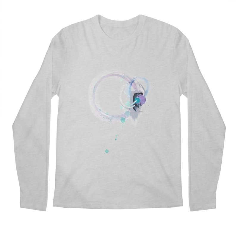 JOY // Ripple Effect Men's Regular Longsleeve T-Shirt by Desanka Spirit's Artist Shop