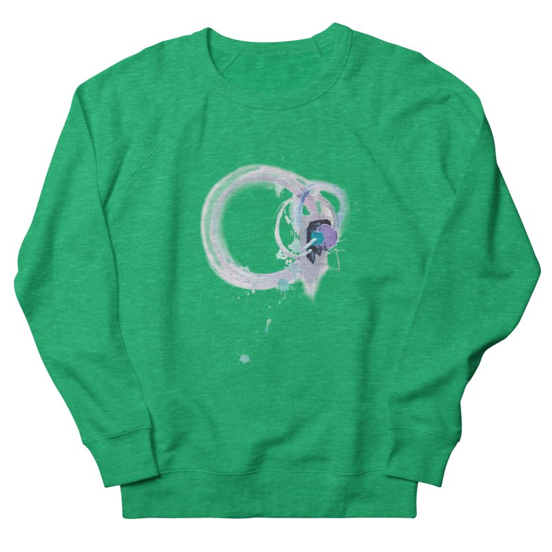 JOY // Ripple Effect Women's Sweatshirt by Desanka Spirit's Artist Shop