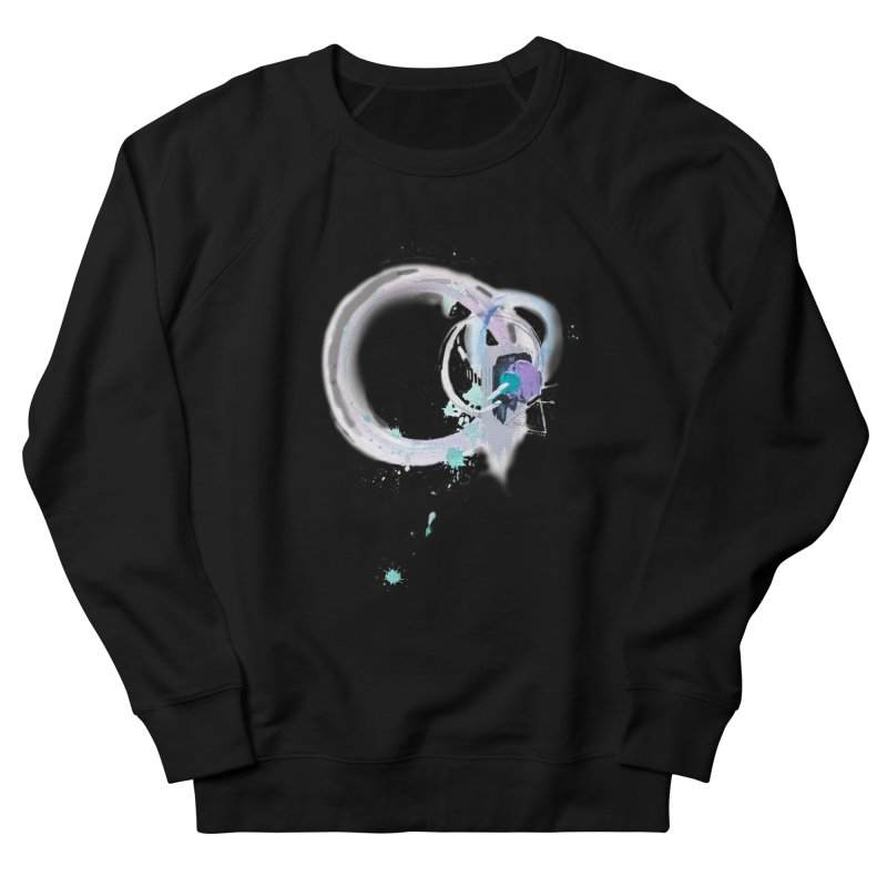 JOY // Ripple Effect Men's French Terry Sweatshirt by Desanka Spirit's Artist Shop