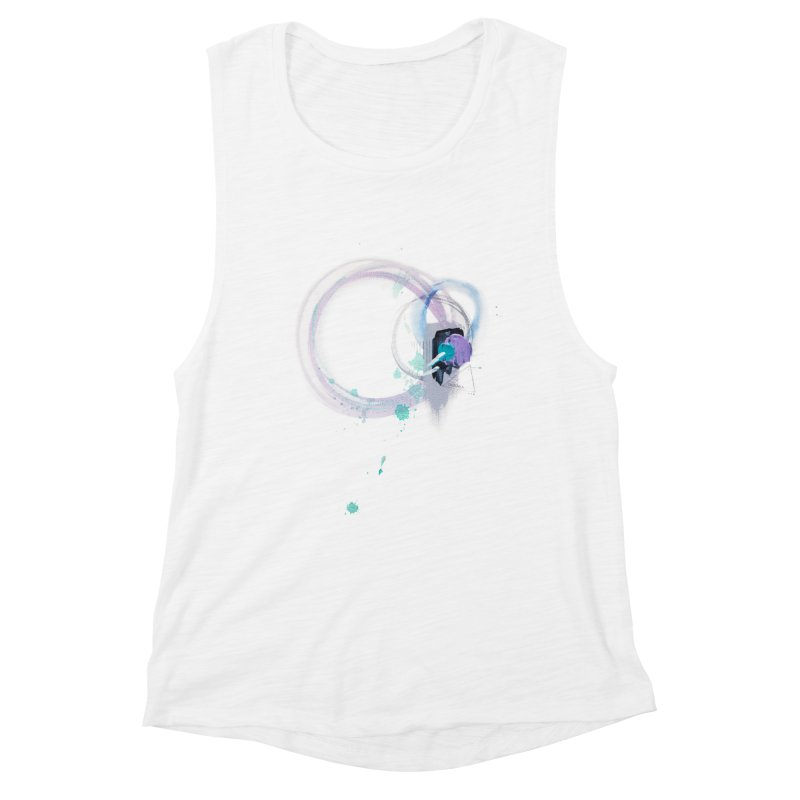 JOY // Ripple Effect Women's Tank by Desanka Spirit's Artist Shop
