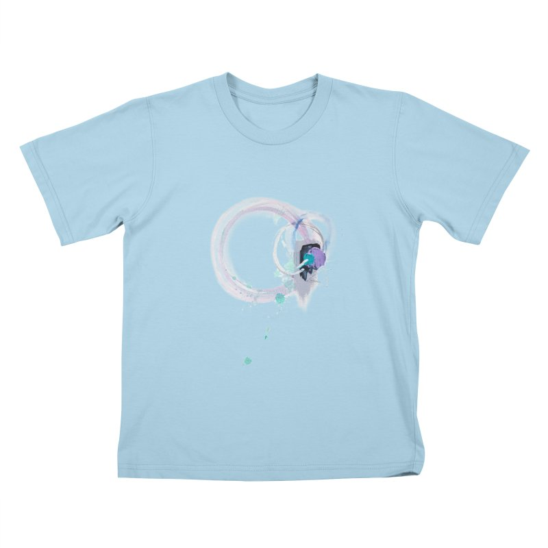 JOY // Ripple Effect Kids T-Shirt by Desanka Spirit's Artist Shop
