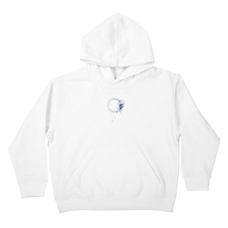 JOY // Ripple Effect Kids Pullover Hoody by Desanka Spirit's Artist Shop