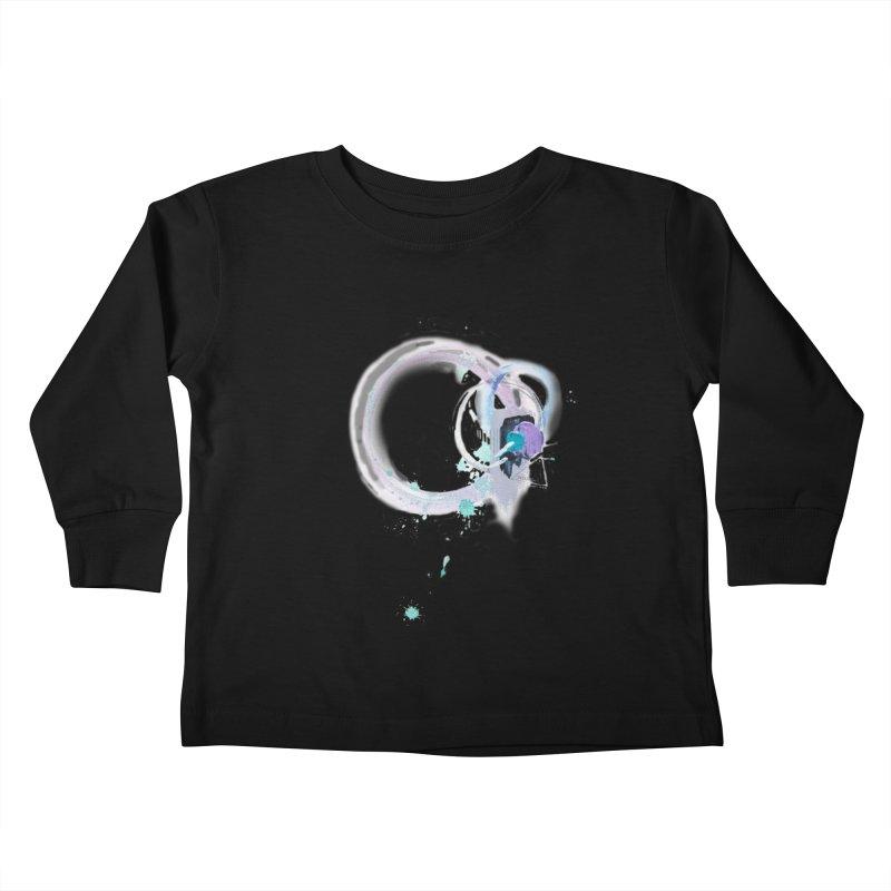 JOY // Ripple Effect Kids Toddler Longsleeve T-Shirt by Desanka Spirit's Artist Shop