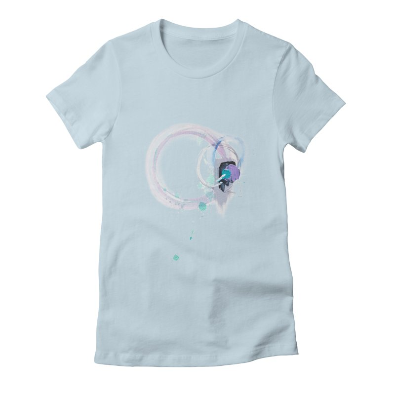 JOY // Ripple Effect Women's T-Shirt by Desanka Spirit's Artist Shop