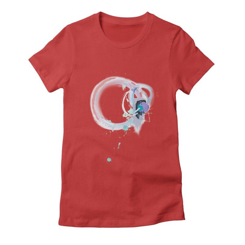 JOY // Ripple Effect Women's T-Shirt by Desanka Spirit's Artist Shop