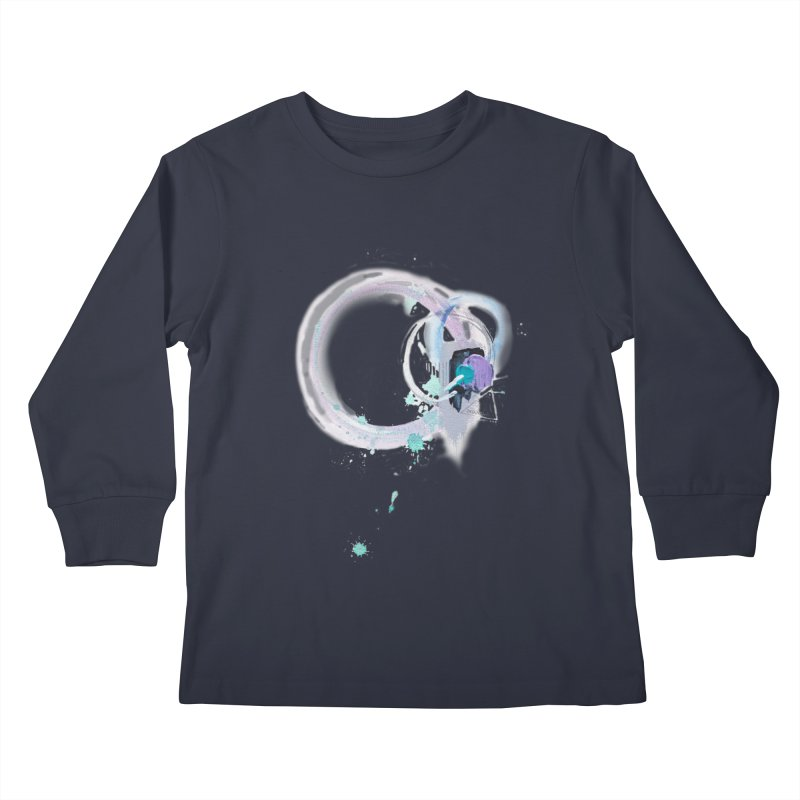 JOY // Ripple Effect Kids Longsleeve T-Shirt by Desanka Spirit's Artist Shop