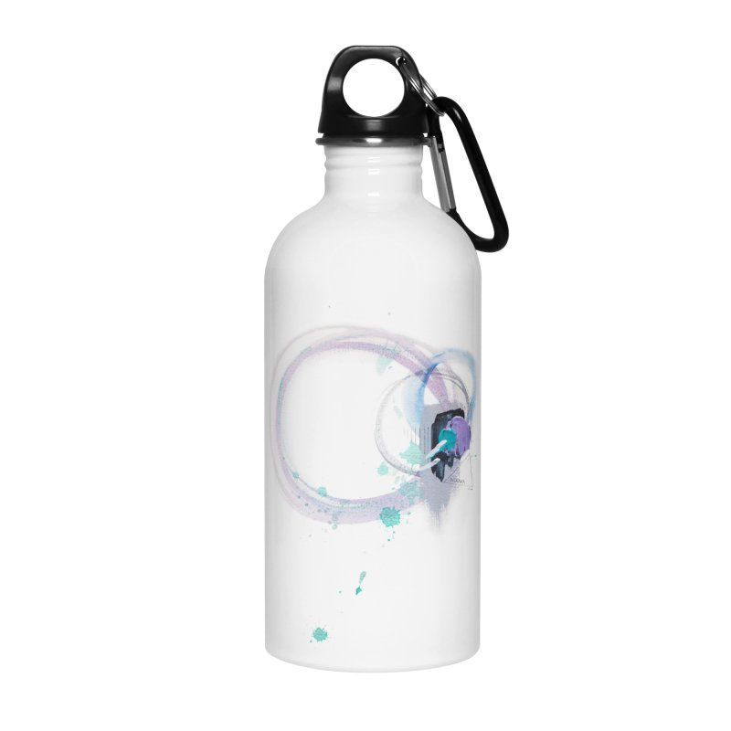 JOY // Ripple Effect Accessories Water Bottle by desankaspirit's Artist Shop