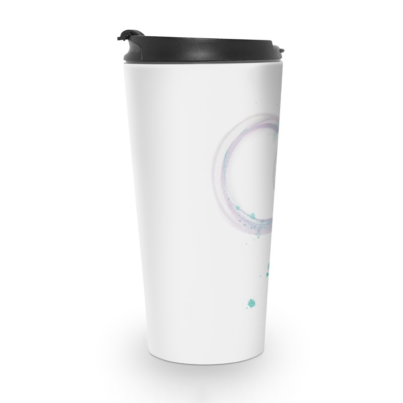 JOY // Ripple Effect Accessories Travel Mug by Desanka Spirit's Artist Shop