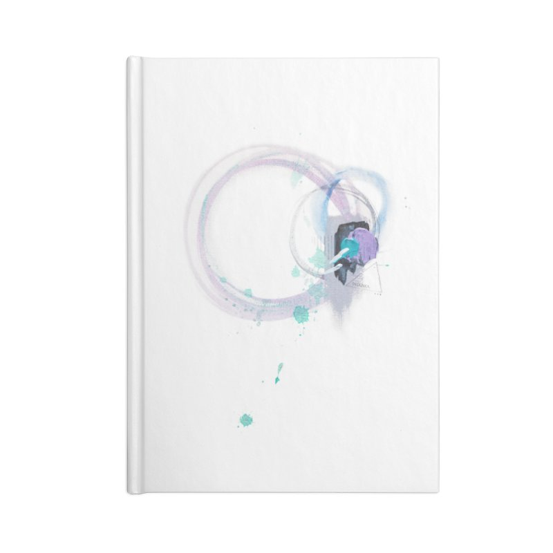 JOY // Ripple Effect Accessories Lined Journal Notebook by Desanka Spirit's Artist Shop