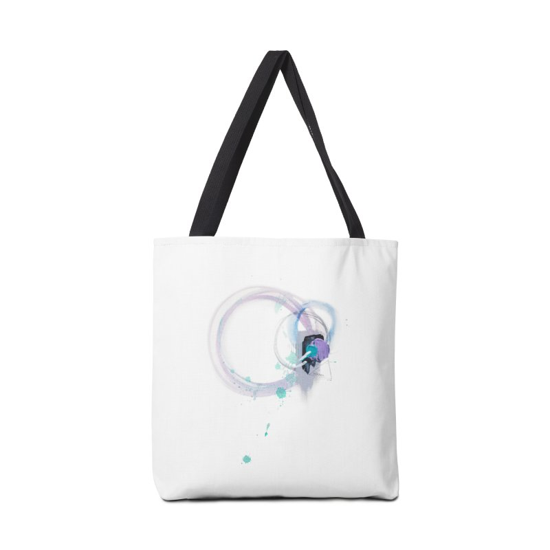JOY // Ripple Effect Accessories Bag by Desanka Spirit's Artist Shop
