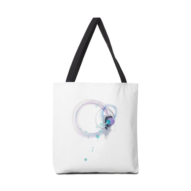 JOY // Ripple Effect Accessories Bag by Desanka Spirit's Artist Shop