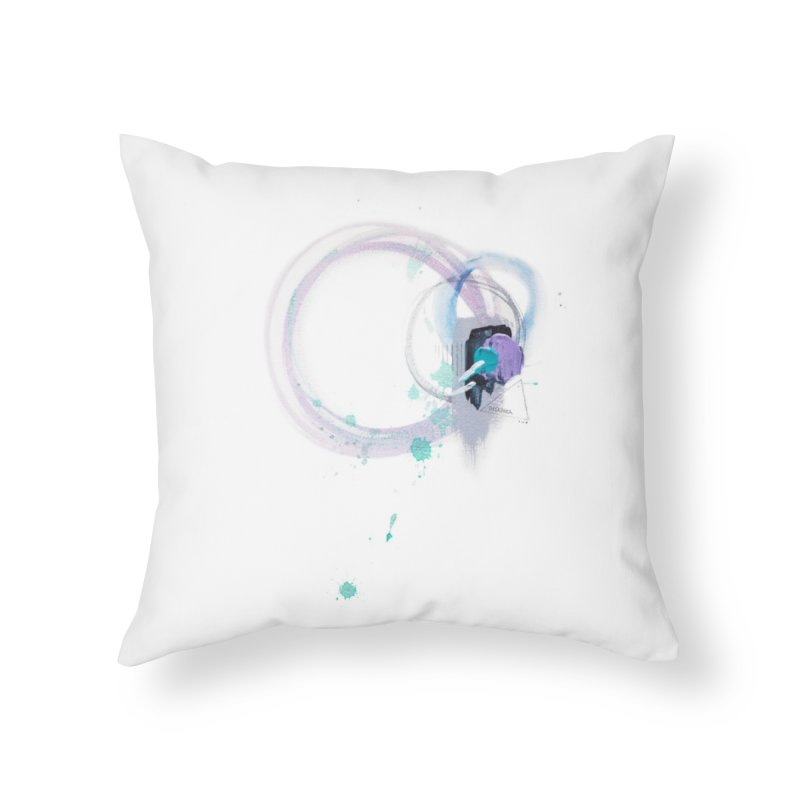 JOY // Ripple Effect Home Throw Pillow by Desanka Spirit's Artist Shop