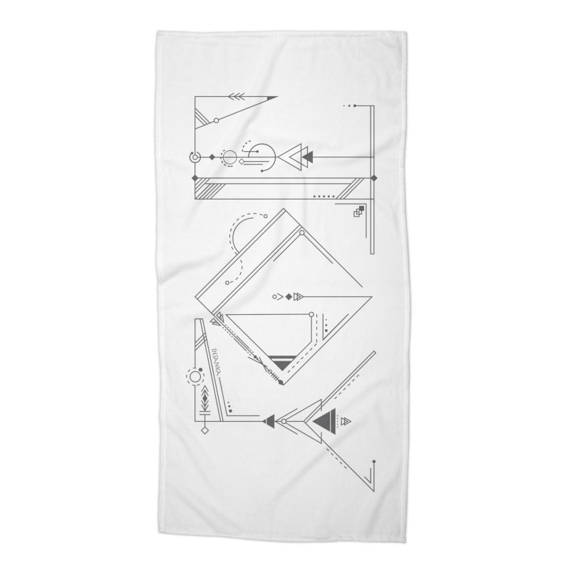 JOY // Connected Accessories Beach Towel by Desanka Spirit's Artist Shop
